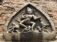 The history traces ancient Champa in Marble
